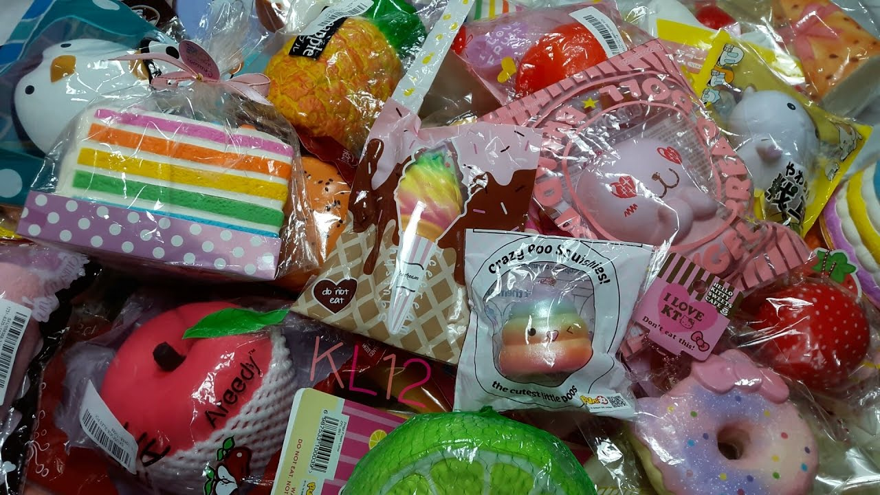 Squishy Kertas Collection : Squishy Collection #1 KL12 - YouTube