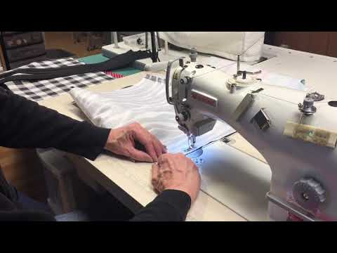 Production Style Sewing on a Singer Industrial