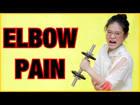 Sharp Pain In Elbow When Lifting Weights? Here's How to Fix It!