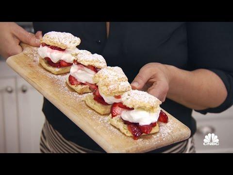 Antonia's Strawberry Shortcake With Biscuits  Restaurant Startup