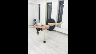 Pole Dance Spinning Pole Training