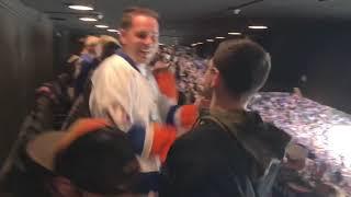 Islanders vs Sabres, March 30, 2019, Nassau coliseum (islanders clinch playoff spot)