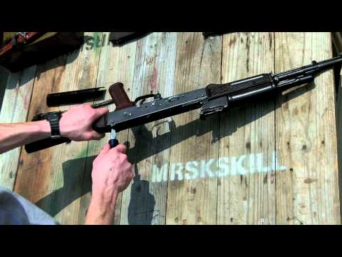 How To: Build a AK-74 From a Bulgarian Parts Kit PART 8 in HD