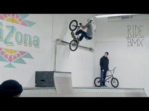 RIDE BMX HEADLIGHTS WORLD PREMIERE