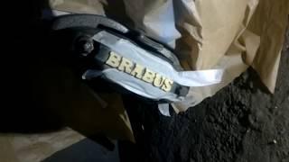 Ян :) 3D буквы на суппортах BRABUS