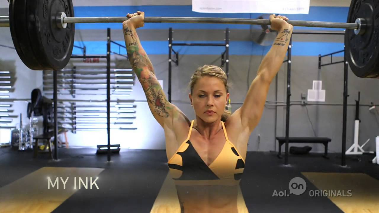 Christmas Abbott Workout.Christmas Abbott Lifting Weight At Crossfit