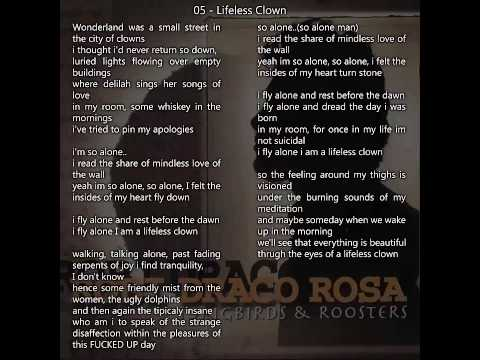 Robi Draco Rosa - Songbirds And Roosters Album Completo Letra Full Album