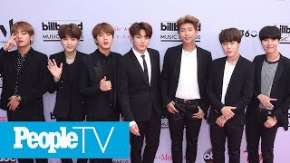 BTS Reveals They've Spoken To Shawn Mendes And Troye Sivan About Potential Collaborations | PeopleTV