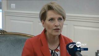 وزيرة دفاع ألبانيا تندد في لقاء مع أخبار الآن بهجوم نيس