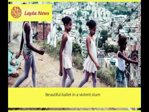 Beautiful ballet in a violent slum |  By : CNN
