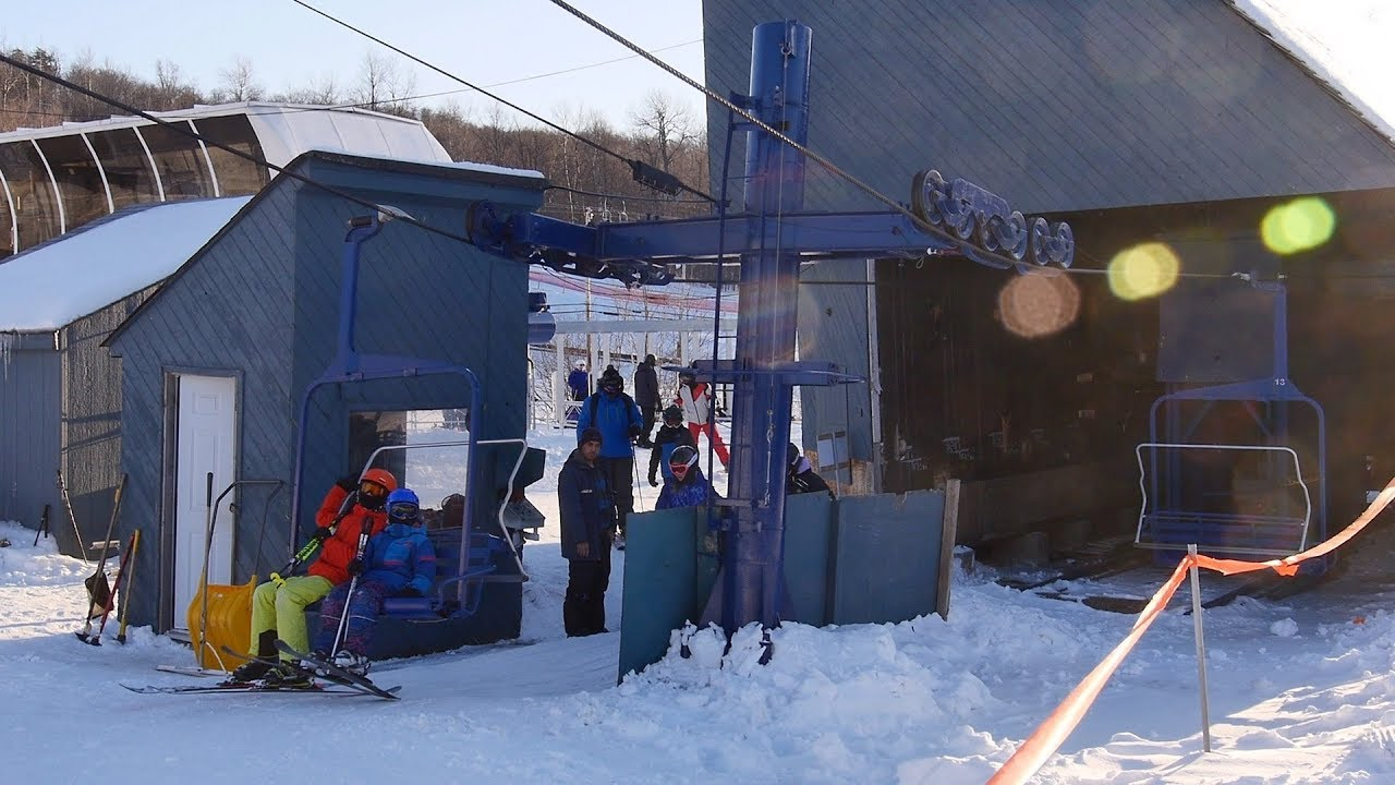 Pineault Triple - Camp Fortune / Hall Triple Chairlift