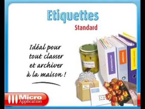 Etiquette Standard Micro Application 5057