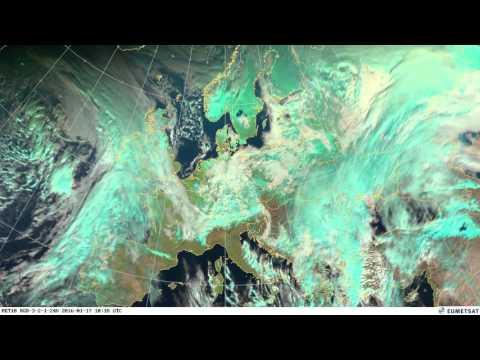 Animación del satélite correspondiente al mes de Enero de 2016