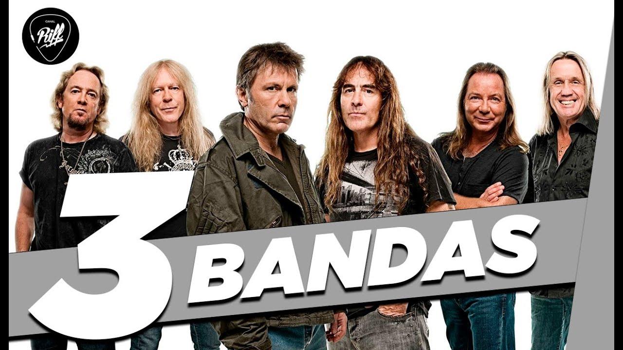 3 Bandas pra quem curte Iron Maiden 🤘