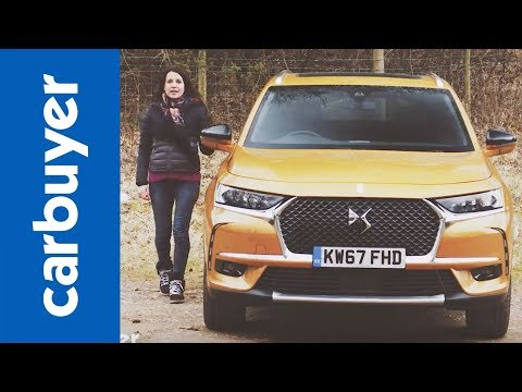 New 2018 DS 7 Crossback review – a new name in French luxury? – Carbuyer