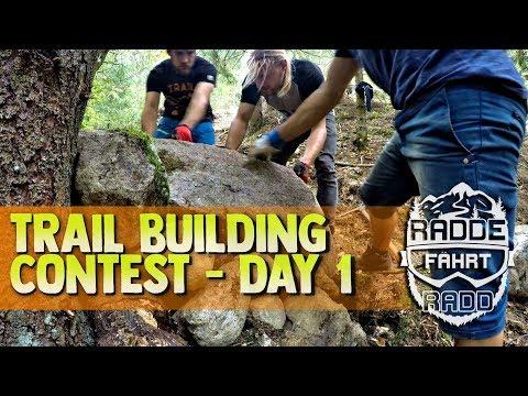 TRAIL BUILDING   LINE CHOICE / FIRST BERMS [ day 1 ] #trailwhisperer Bikepark Todtnau -eng sub-