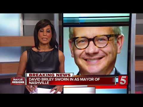 David Briley Sworn In As Nashville Mayor