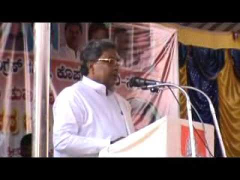 Siddaramaiah CM Koppa Speech
