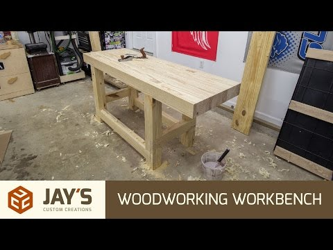 Build A Woodworking Workbench for $110 USD