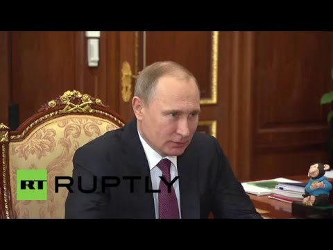 Russia: Head of Academy of Sciences discusses scientific investment with Putin