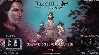 NetEnt - Dracula Online Slot - Fledermaus Feature und Freispiele auf 1 Euro Einsatz - Echtgeld