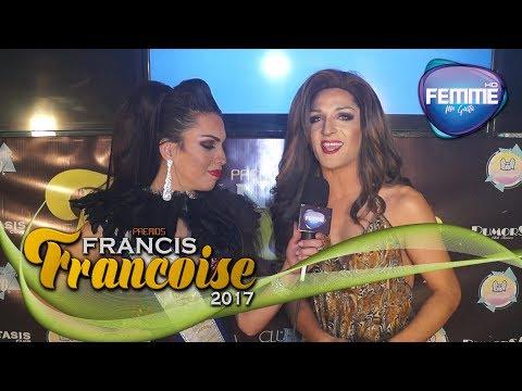 Alfombra Roja Gala Premios Francis Francoise 2017 - Concepción - Canal Femme