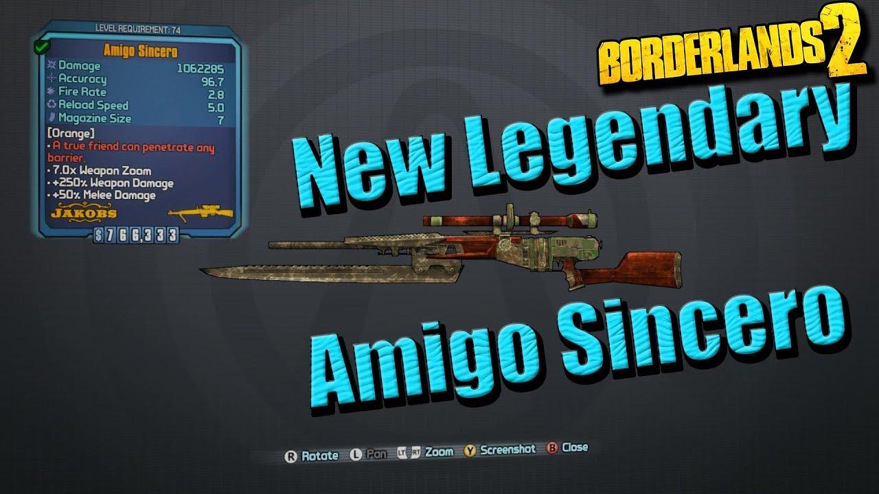 Borderlands 2 legendary sniper rifles