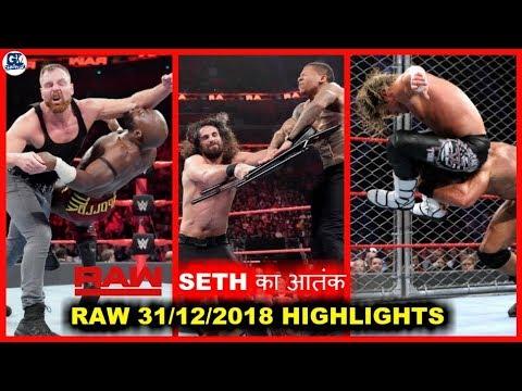 Old Seth Return | Cena Return | Chair Shot | WWE Raw 31 December 2018 Highlights