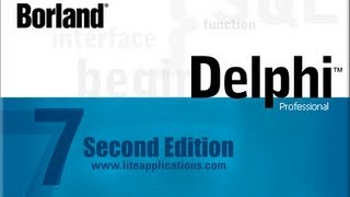 Видео уроки delphi, (Язык pascal)  №1.Переменные, Ввод,Вывод.