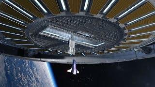 Вращающаяся космическая станция фон Брауна - проект Rotating Space Station от Gateway Foundation
