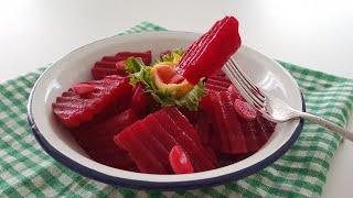 Şifa Kaynağı 2 Günde Kırmızı Pancar Turşusu Tarifi-Antioksidan ve Mineral Deposu-Gurbetinmutfagi
