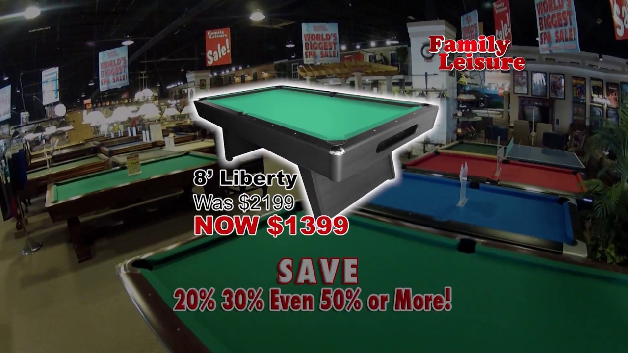 Family Leisure Floor Model Sale Jan 2017 Youtube