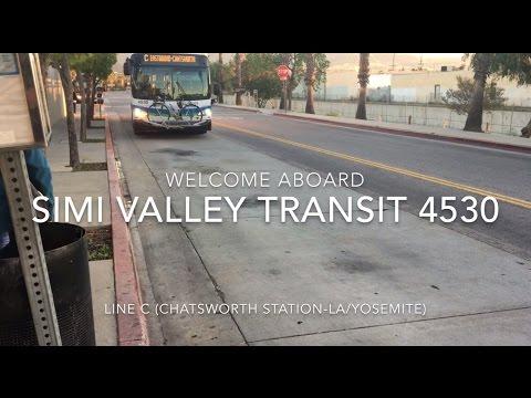 Simi Valley Transit 2014 New Flyer XN40 #4530 | Coin Lloyd's Transit Hub