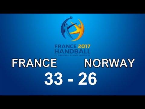 Francuska - Norveska 33-26 finale u Rukometu (France - Norway Handball)
