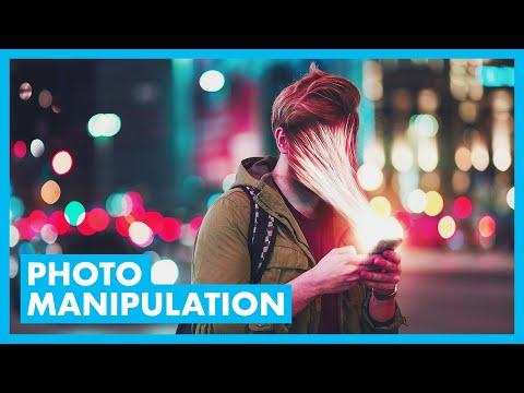 PHOTOSHOP: Sucked into smartphone photo manipulation tutorial thumbnail