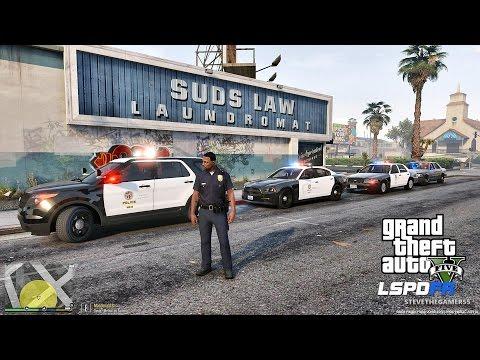 GTA 5 LSPDFR 0.3.1 - EPiSODE 233  - LET'S BE COPS - LIVE PATROL (GTA 5 PC POLICE MODS)