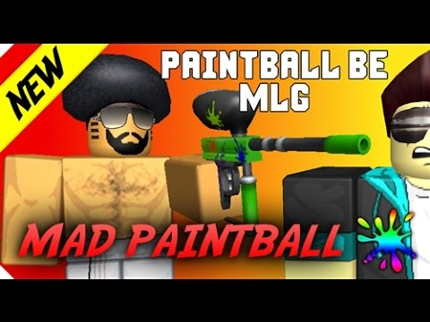 Roblox Mad Paintball | Sniper war - YouTube |Mad Paintball Sniper