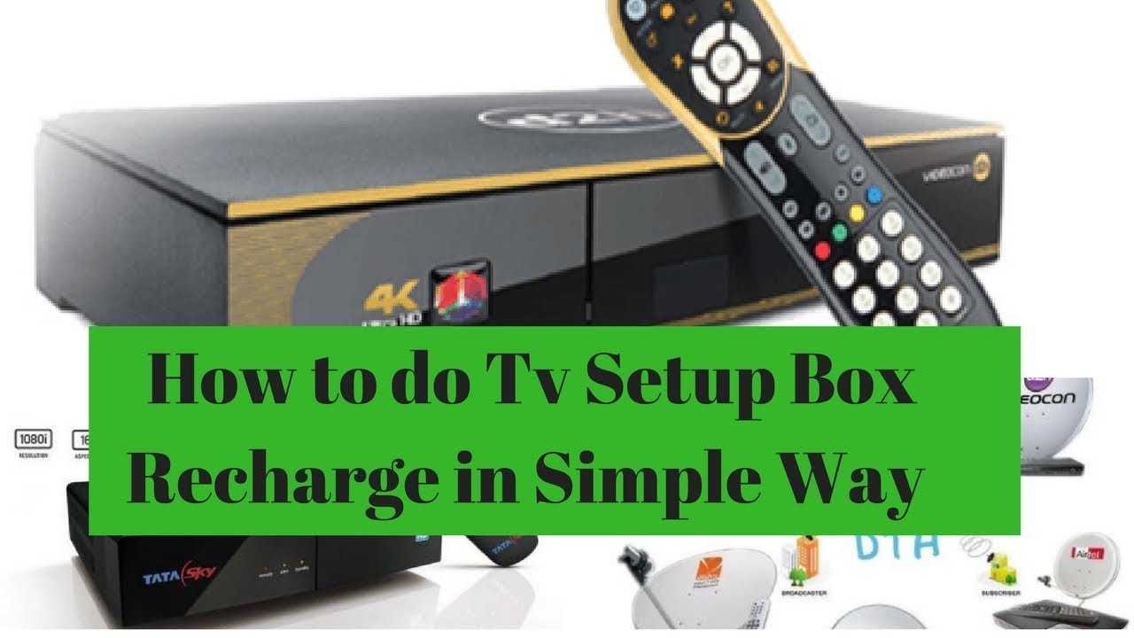 How to do Tv Setup Box Recharge in Simple Way Through Paytem