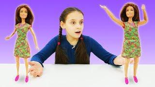 Кукла Барби и здоровое питание. Видео для девочек.