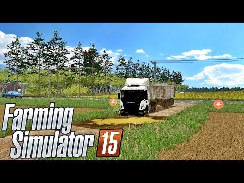 Mapa Com Atoleiros (Fazenda Bacuri) - Farming Simulator 15 Multiplayer