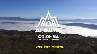 Aonijie Colombia Piedra Colgada Trail 2018