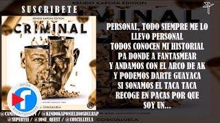 Criminal - Kendo Kaponi ft Cosculluela  (Prod. Super Yei Y Jone Quest) thumbnail