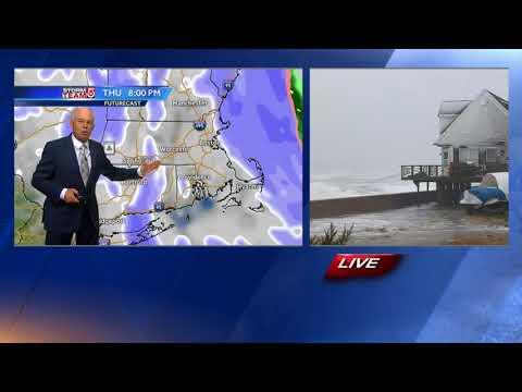 Video: Storm Intensifies; Snow, Wind Batter Region
