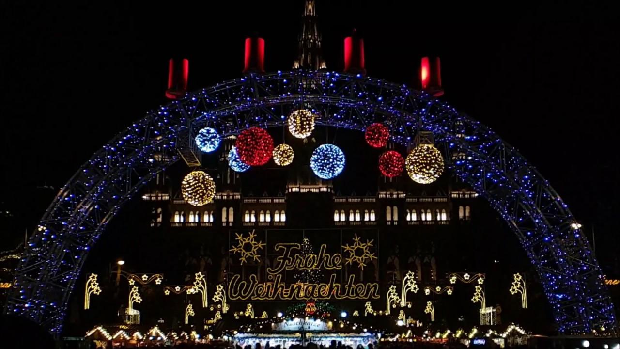 Weihnachtsmarkt Wien Eröffnung.Eröffnung Wiener Christkindlmarkt