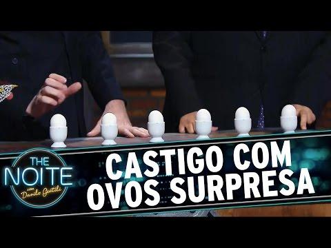 The Noite (19/08/15) - Castigo Mestre Mandou Com Ovos Surpresa