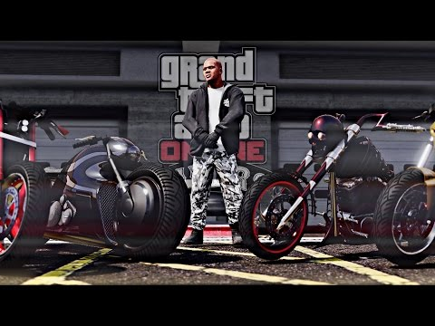GTA 5 - Biker DLC Meet (Ultra Graphics Cinematic / Bike Meet)
