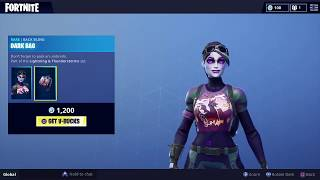 Dark Bomber Skin and Thunder Crash Axe Arrive! (Fortnite Store Update)