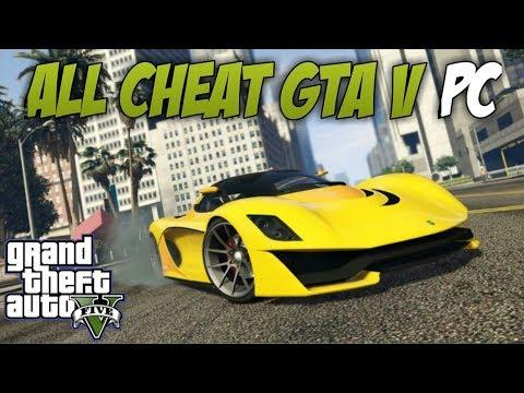 GTA 5-SEMUA CHEAT GTA V PC-CHEAT GTA 5 PC 2019