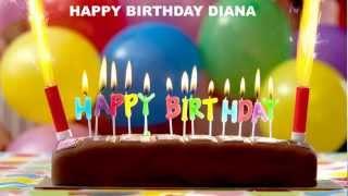 DianaEnglish - Birthday cakes - Happy Birthday