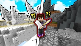 MINECRAFT SKYWARS WITH NO TEXTURES?!